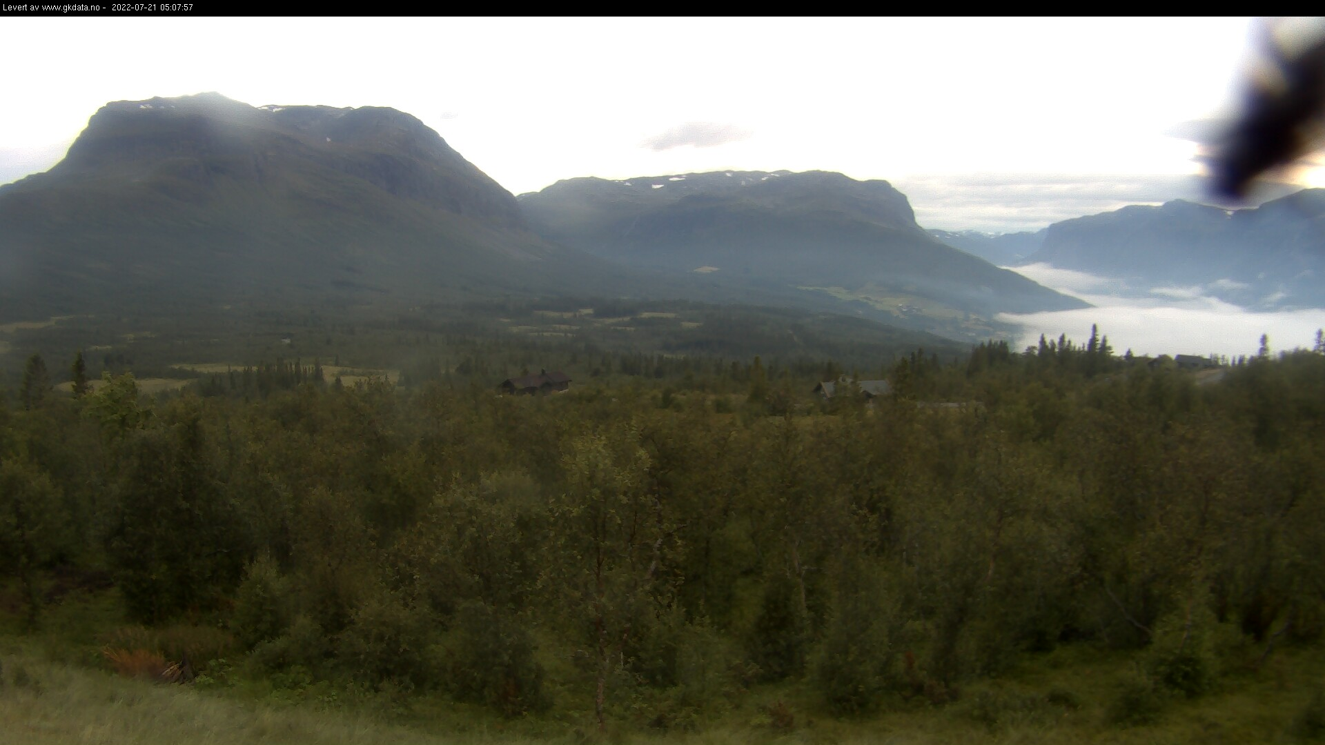 Webkamera i Vang - Grindafjell